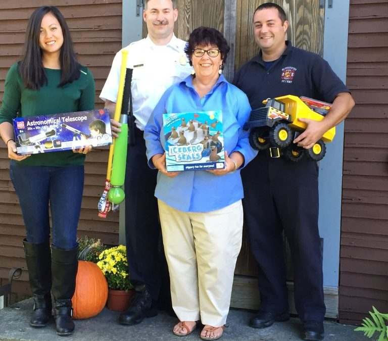 Gloucester Fire Department will be running their 3rd annual boot drive to benefit Wellspring's Holiday Store.